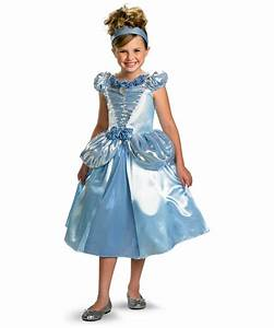 Cinderella Disney Princess Kids Costume - Girls Cinderella ...