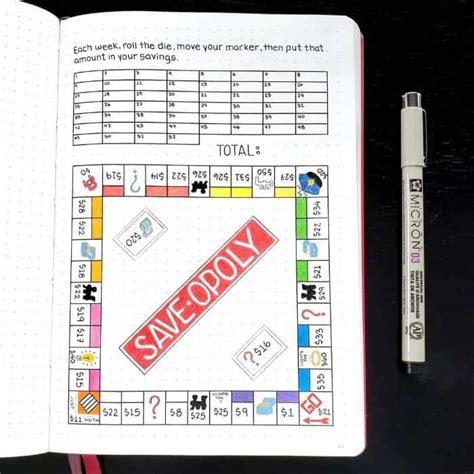 creative bullet journal ideas  personal finance