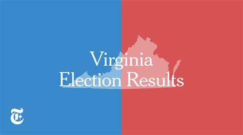 virginia election results    york times