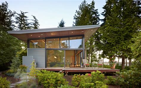 pictures small glass house design contemporary glass house design with metal siding home