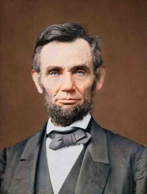 abraham lincoln eye color s rants abraham lincoln in color