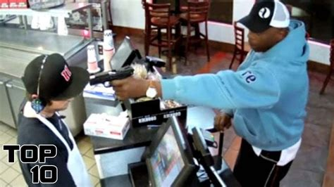 Top 10 Times The Cashier Fought Back During A Robbery