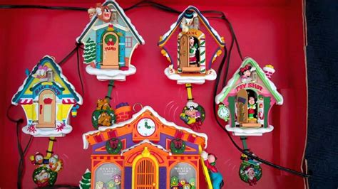 christmas mickeys clock shop cukoo ornaments youtube