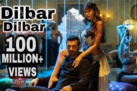 'dilbar' Makes 100 Million Views At Lightning Speed