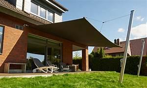 Sonnensegel elektrisch hightech f r besten komfort for Sonnensegel terrasse aufrollbar