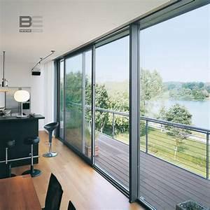 Schüco Fenster Farben : schiebeanlagen aus aluminium ~ Frokenaadalensverden.com Haus und Dekorationen