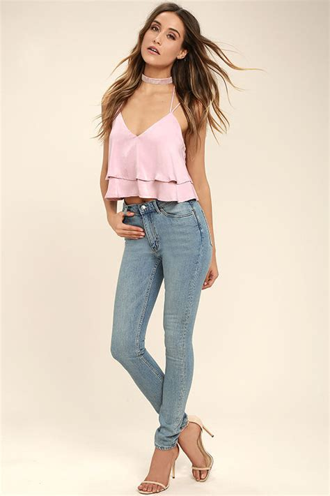 cheap light blue jeans cheap monday second skin high waisted jeans skinny