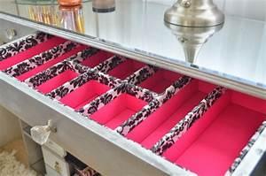 Rangement Maquillage Tiroir : rangement pour tiroir de commode ~ Teatrodelosmanantiales.com Idées de Décoration