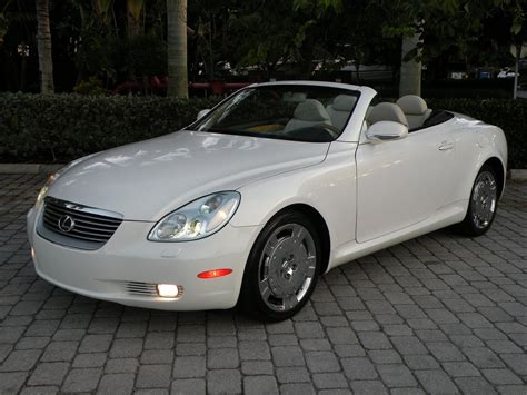 lexus sc430 2004 lexus sc 430 photos informations articles