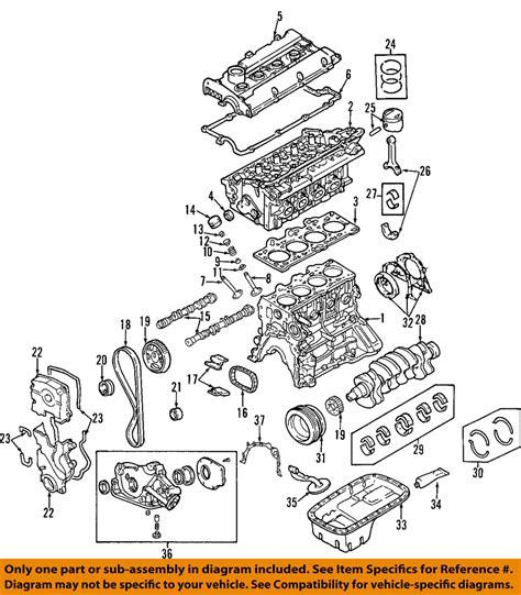 Accent Belt Diagram by Hyundai Oem 01 11 Accent Engine Timing Belt 2431226050 Ebay