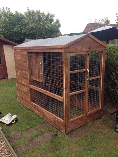 ten oaks ltd outdoor wooden kennels runs