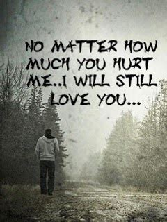 No Matter How Much You Hurt Me!  Mobile Love Wallpaper
