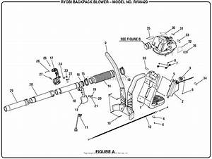 Homelite Ry08420 Backpack Blower Mfg  No  090159001 Parts Diagram For Figure A