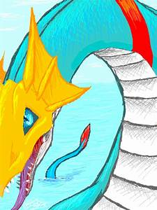 Digimon: Seadramon by Pink-Shimmer on DeviantArt