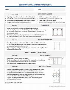 essential volleyball practice plans bestvolleyballdrills With volleyball practice plan template