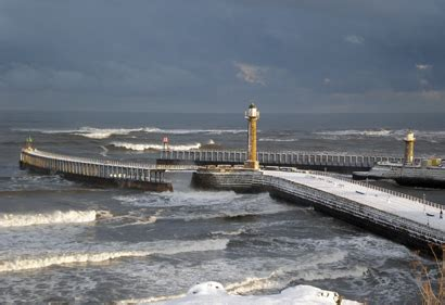 storms whitby weather  holiday guide