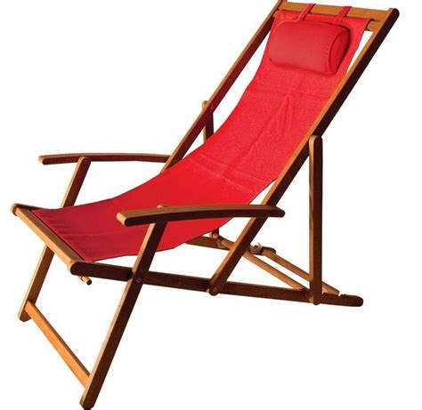 folding sling patio chair furniture portable wood frame