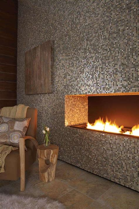 eclectic mosaic tile fireplaces to adorn your home decor