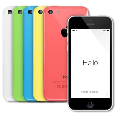 at t iphone 5c apple iphone 5c smartphone 16gb at t no contract ebay