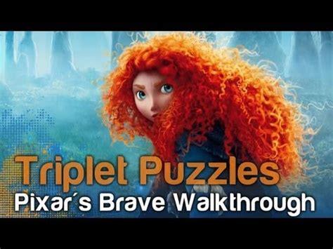 Pixar's Brave The Video Game - Triplet Bear Puzzles ...