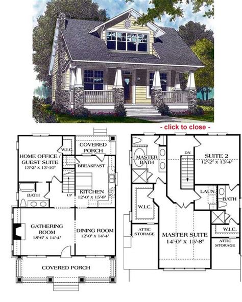 arts and crafts floor l bungalow floor plans craftsman style and house