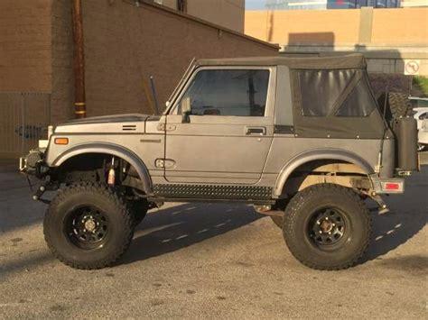 1987 Suzuki Samurai Off Road