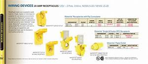 30a Current 3 Wires Yellow Female Single Flip Lid 2 Poles
