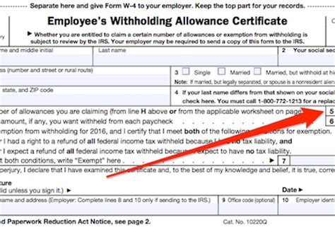 figuring out your form w 4 how many allowances should you