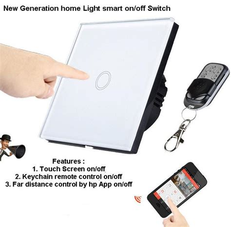 wireless fan and light control glass touch switch remote smartphon end 11 27 2018 9 15 pm