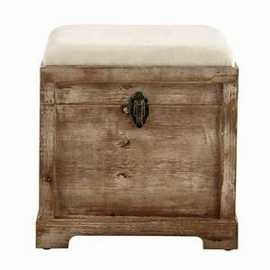 Truhe Aus Holz : truhe cascabelle aus holz b 39 cm maisons du monde ~ Watch28wear.com Haus und Dekorationen