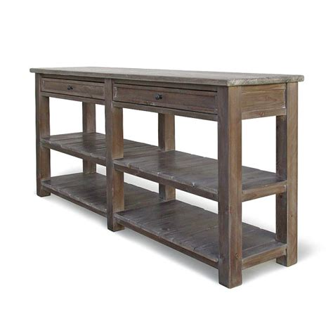 Airia Desk And Media Cabinet by Console Table Media Console Tv Stand Reclaimed Wood