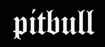 Pitbull Font Logos Rapper Armando Fontmeme