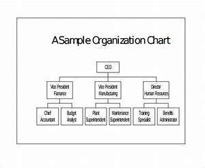 Free 17 Sample Basic Organization Chart Templates In Ms