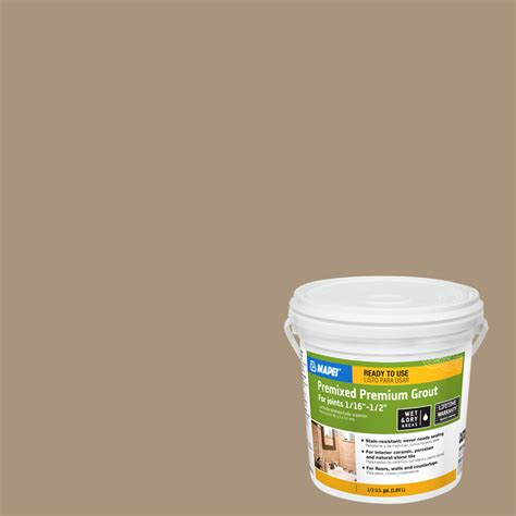 Unsanded Tile Grout Lowes by Shop Mapei 6 9 Lb Chamois Sanded Premixed Grout At Lowes