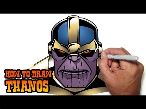 draw thanos easy video tutorial pakfilescom