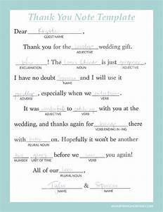 writing thoughtful personalized thank you notes wedding With thank you notes for wedding gifts templates