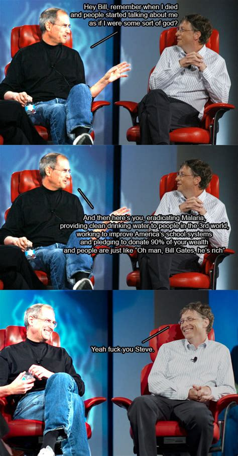 steve jobs bill gates  philanthropy steve jobs