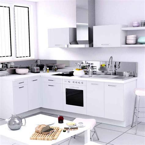 table de cuisine conforama cuisine aménagée d 39 angle pas cher