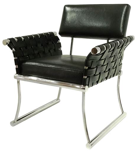 nyla black leather accent chair nyla blk bellini modern