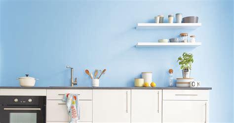 cuisine gris bleu decoration cuisine et gris