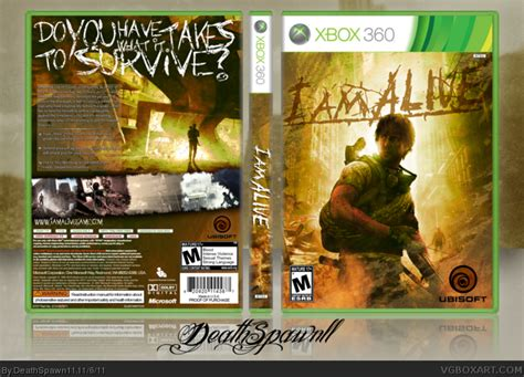 xbox i am alive i am alive xbox 360 box cover by deathspawn11