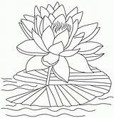 Lotus Coloring Flower Pages Water Printable Clipart Reopen Bloom Blooming Popular Library Play Coloringhome sketch template