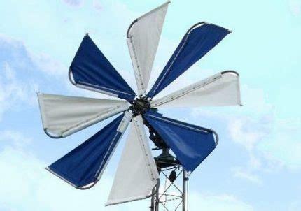 Кинетический ветрогенератор устройство принцип работы применение электромонтаж