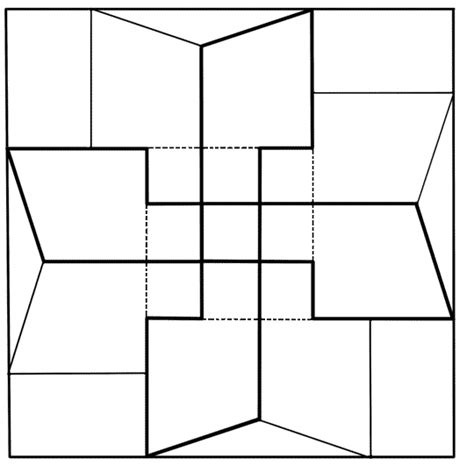 quilt patterns coloring pages clipart