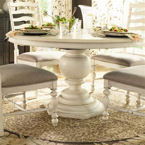 30443 paula deen dining paula deen home paula s pedestal dining table in
