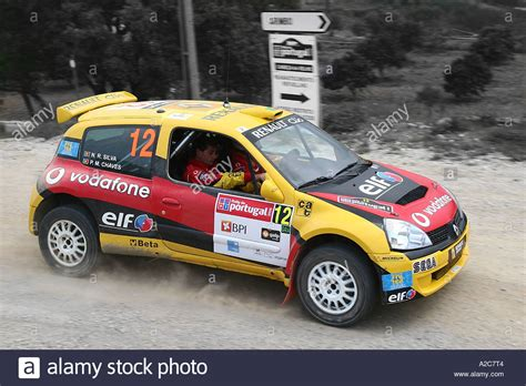 renault clio rally car renault clio rally car stock photo royalty free image