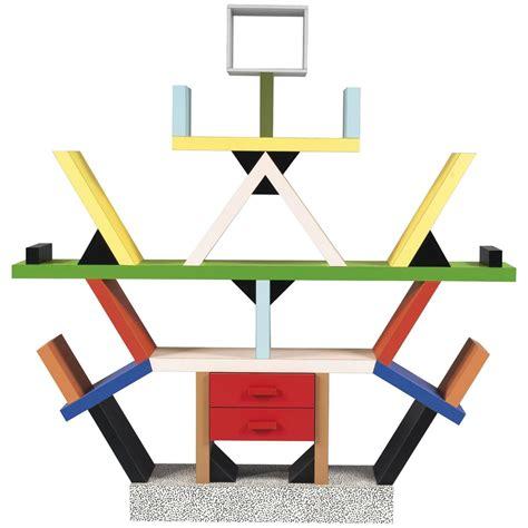1981, Ettore Sottsass, Memphis 'Carlton' Bookshelf, Old