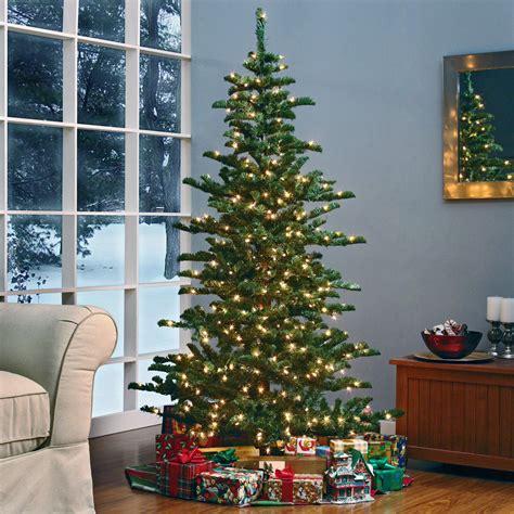 walmart in store pre lit slim tree on sale woodland slim pre lit tree at hayneedle