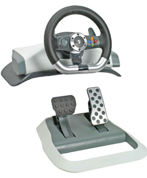 volante xbox genuine microsoft xbox 360 wireless feedback racing