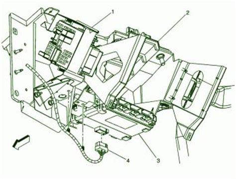 silverado  hd instrument panel fuse box diagram